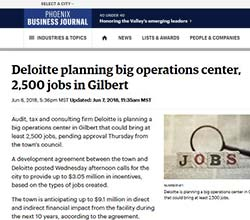 Phoenix Business Journal Article